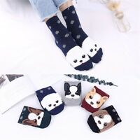 Women Man Cotton Animal Socks Animation Character Cute Gift  Short Casual Socks