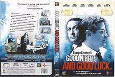 GOOD NIGHT, AND GOOD LUCK (2005) dvd ex noleggio