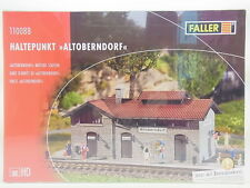 """Lot 11178   Faller ho 110088 punto de interrupción """"altoberndorf"""" estación kit nuevo embalaje original"""
