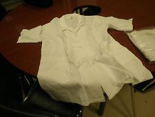 2 Ladies' Short Sleeved White Pharmacy Coats - XL - Lot of 2 Coats