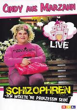 CINDY AUS MARZAHN - DVD - Schizophren: Ich wollte'ne Prinzessin sein ! - Live