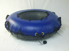 """New 44"""" Heavy Duty Commercial snow tube, 12 handles MADE IN USA BLUE"""