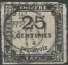---- FRANCE TIMBRE TAXE N°5 - OBLITÉRATION CACHET A DATE - COTE 65€ ----