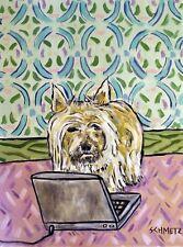 Cairn Terrier laptop picture dog animal art Mug 11oz