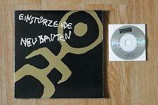 EINSTURZENDE NEUBAUTEN Biography/Lyrics book + mini CD (Italie 1993)