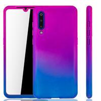 Xiaomi Mi 9 Case Phone Cover Protective Case Bumper Heavy Duty Foil Pink / Blau