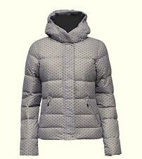 Ladies Nike Mirror Duck Down Jacket Thin Light Weight Zip off Hood Coat 14-16