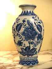 Formalities Vase by Baum Brothers Blue and White porcelain. Made in China.