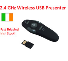 2.4GHz Wireless USB Presenter with Laser Pointer Pen Power Point Remote Control