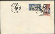 Cyprus 1963 Centenary of the Red Cross issue Unoficial FDC.