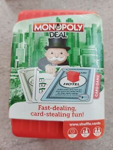 Shuffle Monopoly Deal - Travel Card Game
