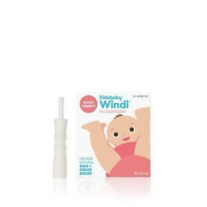 Fridababy WINDI The Gaspasser Infant Baby Fast Natural Gas Colic Relief 10-Pack