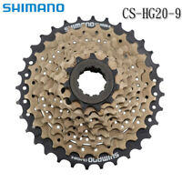 Shimano Altus CS-HG20-9 Speed Mountain Bike Bicycle Cassette 12-32T Brown US New