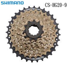 Shimano Altus CS-HG20-9 Speed Mountain Bike Bicycle Cassette 12-32T Brown