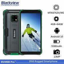 4GB+64GB Smartphone Blackview BV4900 Pro Outdoor 4G Handy Ohne Vertrag Octa Core