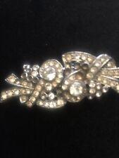 Double Dress Clip Vintage Art Deco Paste?