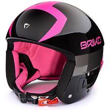 Briko Vulcano FIS 6.8 Ski Helmet Black Fuchsia