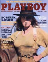 PLAYBOY JULY 1984 Bo Derek Bolero Liz Stewart Fran Lebowitz John Belushi RCVR