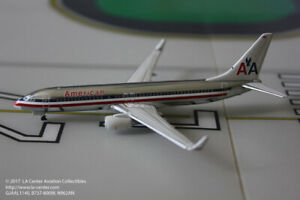 Gemini Jets American Airlines Boeing 737-800W in Old Polished Color Model 1:400