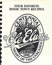 Cle Elum Washington Centennial Cookbook 1988