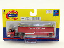 hs Athearn 91882 Ford C Tractor w/Haz Mat Trailer 1:87 HO Chicago Fire Dept