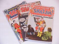 Shazam vintage Captain Marvel comic book lot  # 5, 6, and 7  DC Comics