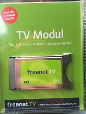 FREENET TV DVB-T2 HD CI+ Modul und 4K/UHD *3 MONATE GRATIS*Nagelneu