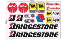Sponsor Racing Aufkleber Set Hoonigan Tuning Oldschool Rally Gymkhana Block US