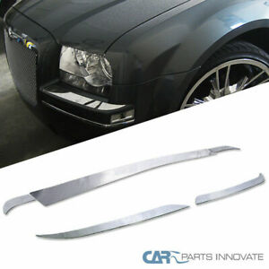 For Chrysler 05-10 300 Base Limited Touring Front+Rear Bumper Trims Deck Covers