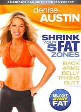Denise Austin Shrink Your 5 Fat Zones 0012236123132 DVD Region 1