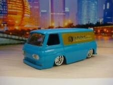 Slammed 1965 65 FORD ECONOLINE Panel TV Repair Van 1/64 Scale Limited Edition S
