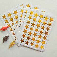 SCHOOL TEACHER OFFICE MERIT REWARD STICKERS SELF ADHESIVE 300 GOLD STARS 15mm