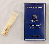 New Premium Flying Goose Tenor Saxophone 8/pc per box reeds Strength #3