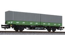 Liliput 235221 Containerwagen Lgjss Sped Pfab DB Ep 4  Auf Wunsch Märklin-Achsen