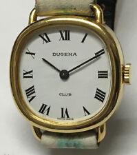 Dugene Club 3602 Made Swiss Seventeen 17 Jewels mechanische werk