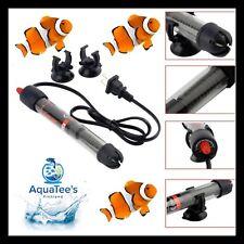 AQUATEE AT-700 300W Glass Submersible Heater Aquarium Fish Tank MARINE & FRESH