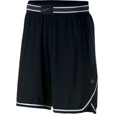 NEW NIKE VAPORKNIT BASKETBALL SHORTS MEN'S 925795-010 Black Anthracite White
