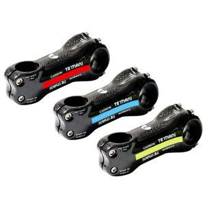 3K Carbon Fiber Stem Road Bike MTB Handlebar Stems 6°/17° Bicycle Stem 70-130mm