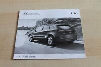129050) Hyundai i30 Kombi - Preise & t. Daten & Ausstattungen - Prospekt 02/2013