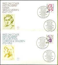 BRD 1987: Frauen! FDC der Nr. 1331+1332 mit Bonner Ersttags-Sonderstempeln! 1809