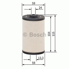 Kraftstofffilter - Bosch 1 457 431 158