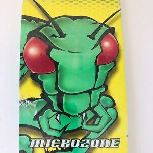 """Retro 80's Vintage VFX Single Kicktail Skateboard VARIFLEX Microzone 28"""" *NOS*"""