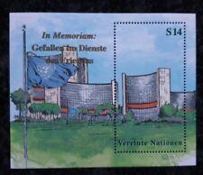 1 Briefm UNO-Wien, Block 11 (299) aus 1999, postfrisch, Dag-Hammarskjöld-Medaill