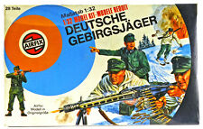 Airfix WWII German Mountain Troops # 51468 - RARE German version mint in box