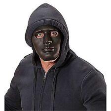 Maschere nero in plastica per carnevale e teatro da Italia