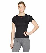 Pearl Izumi Women's W Transfer Short Sleeve Baselayer Tops, Black, X-Large
