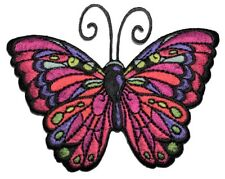 Multicolor Butterfly Applique Patch (Iron on)