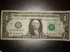 Rare Satan Devil Mystic Serial Number US BANKNOTE $1 DOLLAR Bill  Note