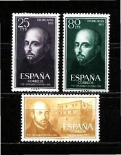 Edifil 1166 / 1168  San Ignacio de Loyola ,  nuevos sin fijasellos MNH**