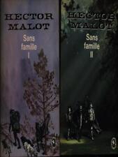 SANS FAMILLE 2VV  MALOT HECTOR  LIBRAIRIE HACHETTE 1966